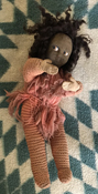 antique cloth doll 949-715-0308