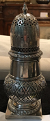 antique silver shaker 949-715-0308