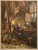Galileo in his workshop 949-715-0308