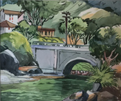 Roger Armstrong watercolor 949-715-0308